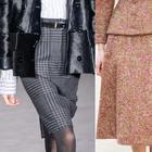 Утепляемся на зиму: модные юбки из драпа и шерсти