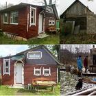 Братья «по приколу» построили за 5000 рублей дом с баней