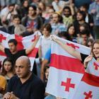 «Чего хочет народ»: в Грузии прошел пророссийский митинг