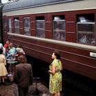 Редкие снимки плацкарта и купе в СССР