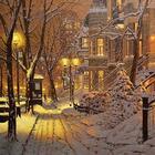 Рождественская сказка от канадского художника Ричарда Савойи (Richard Savoie)