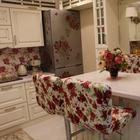 """Кухня: """"розы в шампанском"""" и хорошо продуманный кухонный гарнитур"""