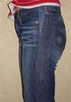 Идеи, как стильно расширить джинсы, которые стали малы