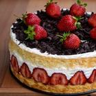 """Торт """"Фрезье"""" вкуснейший французский десерт!"""