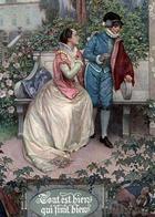 Художник Г.Принц (1865-1925) Шекспировский календарь