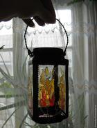 Баночка-ваза-фонарь
