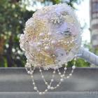 Создание свадебного брошь-букета