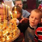 Дети у подножия Креста