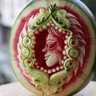 Фруктово-овощной карвинг от Даниэля Барреси