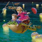 «Ожившие сказки»: философско-символические картины Виктора Низовцева