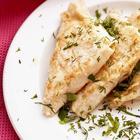 Конвертики из лаваша на сковороде с курицей и сыром за 10 минут