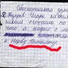 Перлы учеников и их учителей из тетрадей и дневников