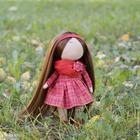 Текстильная кукла от макушки до пяточек