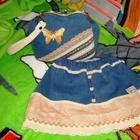 Шьем для девочки юбку и сумочку из ненужных джинсов