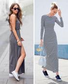 9 идей для длинных платьев, которые выглядят соблазнительнее, чем мини