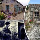 Смотритель кладбища с помощью осколков от стекла и посуды превратил свой дом в настоящий музей