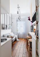 Как обустроить крохотную квартиру-студию