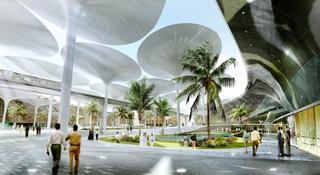 Главный город будущего достраивают в Эмиратах