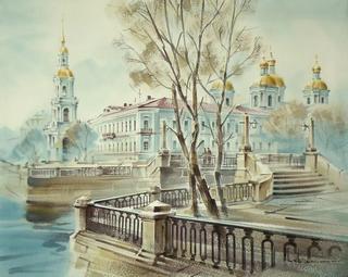Блистательный Санкт-Петербург...Художник Кузема Константин Станиславович