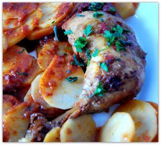Куриные окорочка в чили соусе