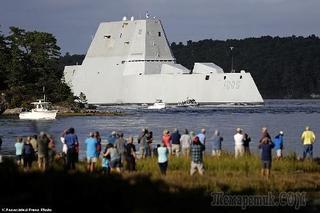 Китайские чипы вывели из строя эсминец Зумвальт USA