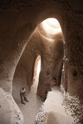 Рукотворные пещеры от Ра Полетта в Нью-Мексико