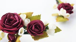 Роза из фоамирана: Идеи элегантных готовых украшений