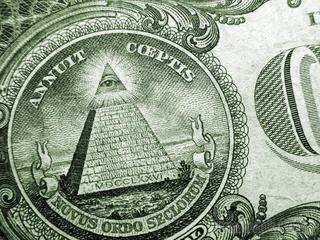 Что означают оккультные символы на долларе?