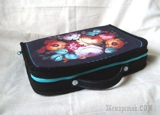 Шьём чемоданчик-органайзер для рукодельницы