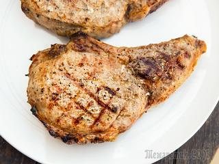 Сочный Чалагач в духовке - Свиная корейка на кости рецепт