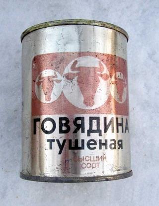 История советской тушенки