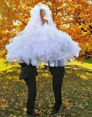 Смешные свадебные фото!