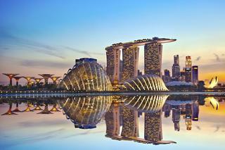 Футуристические сады у залива, Сингапур