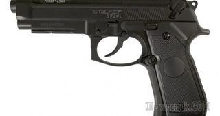 Газобаллонные пистолеты Stalker от тайваньской компании CYMA