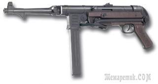 Пневматический автомат Шмайсер МП-40 от немецкой компании SRC