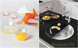 Простые, но гениальные кухонные аксессуары в помощь хорошей хозяйке