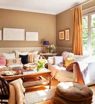 Теплый интерьер дома в Испании