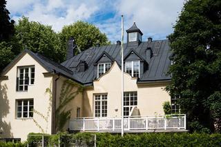 Уютная квартира под крышей в красивом шведском доме (42 кв. м)