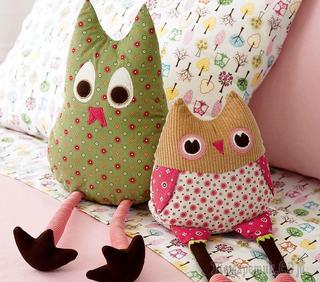 Игрушки из ткани – мягкие и теплые подарки