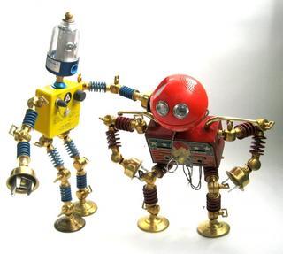Брайан Маршалл (Brian Marshall) и его роботы