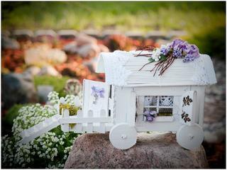 Дом на колесах из палочек от мороженого. Мастер-класс