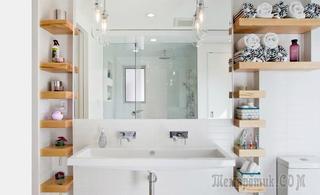 Как хранить мелочь и косметику в ванной комнате: 15 удачных примеров