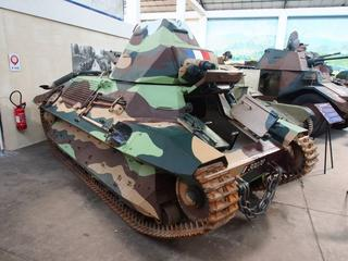 Французский лёгкий танк сопровождения FCM 36