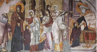 Введение во Храм Пресвятой Богородицы. Картины, фрески и иконы