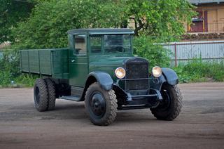 Тест-драйв советского грузового автомобиля ЗиС-5