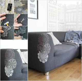 Реставрация «подраных» диванов