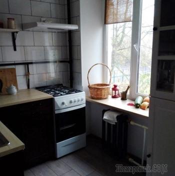 Кухня-гостиная в хрущевке
