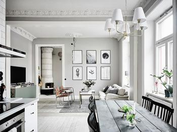 Трехкомнатная шведская квартира 60 кв.м.
