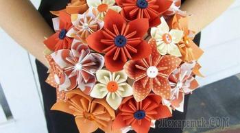 Изготовление объемных бумажных цветов: 6 МК