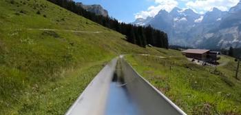 Не хотите ли прокатиться на альпийской горке?